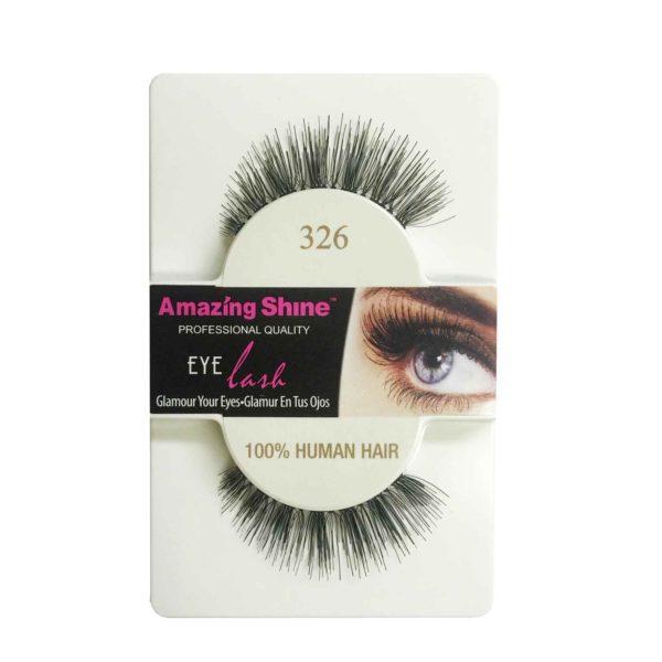 False Eyelashes - 100% Human Hair No. 326 by Amazing Shine