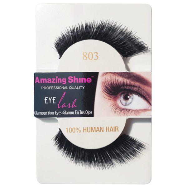 Amazing Shine 100% Human Hair Strip Eyelashes - 803