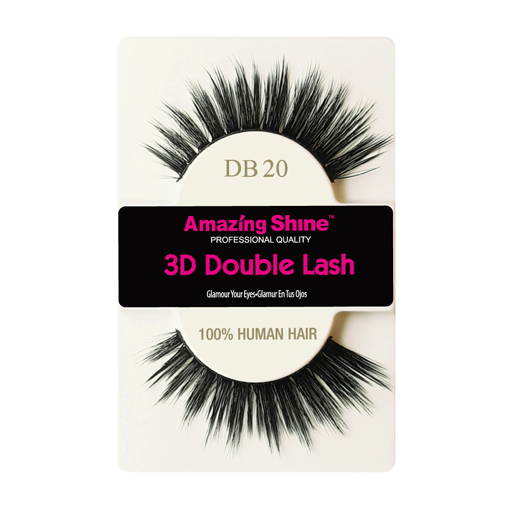 Amazing Shine 3D Double Strip Eyelashes - DB20