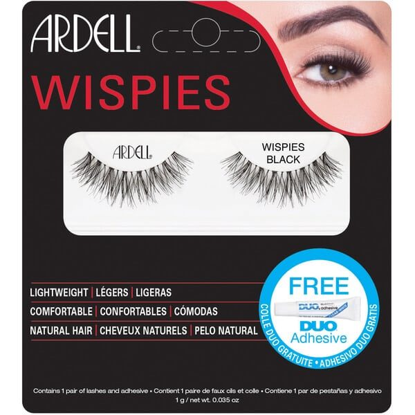 Ardell Wispies Natural Hair Eyelashes – Wispies Black