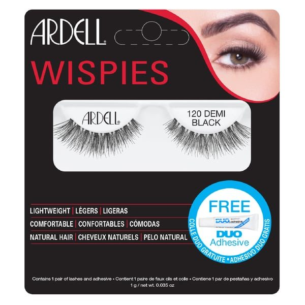 Ardell Wispies Natural Hair Eyelashes - 120 Demi