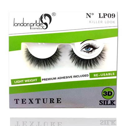 London Pride 3D Silk Eyelashes - Killer Look