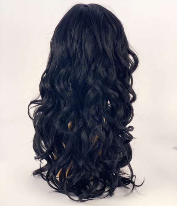 Chrissy Lace Parting Synthetic Wig 1B by Sleek Spotlight 101
