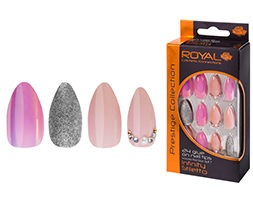 Royal Cosmetics Prestige Collection - Pink Infinity False Stiletto Nail Tips