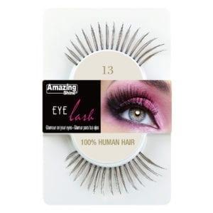 False Eyelashes - 100% Human Hair No. 13 by Amazing Shine