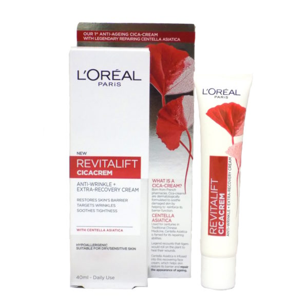 L'Oreal Revitalife Cicacrem Anti Wrinkle & Extra Recovery Cream