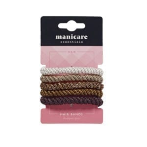Manicare 5 Plaited Hair Bands