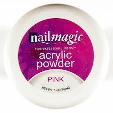 Nail Magic Acrylic Powder - Pink 30g