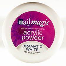 Nail Magic Acrylic Powder - white 30g