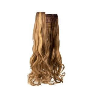 Stranded Clip In One Piece – Curly 22″