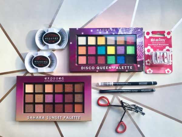 8pc Eye Make-up Kit by Exposed Cosmetics