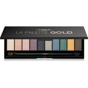 L'Oreal Color Riche Eyeshadow Palette - Gold