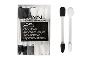 25 Piece Double Ended Applicators by Royal Cosmetics