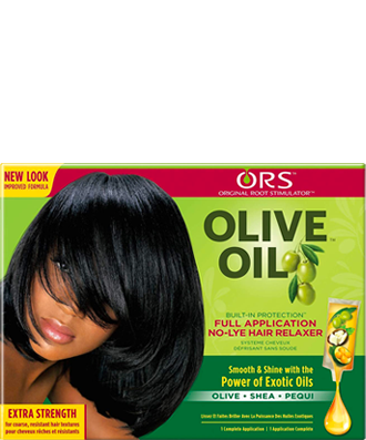 ORS Olive Oil No-Lye Relaxer Kit - Extra Strength