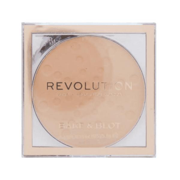 Revolution Bake & Blot Powder Compact – Beige