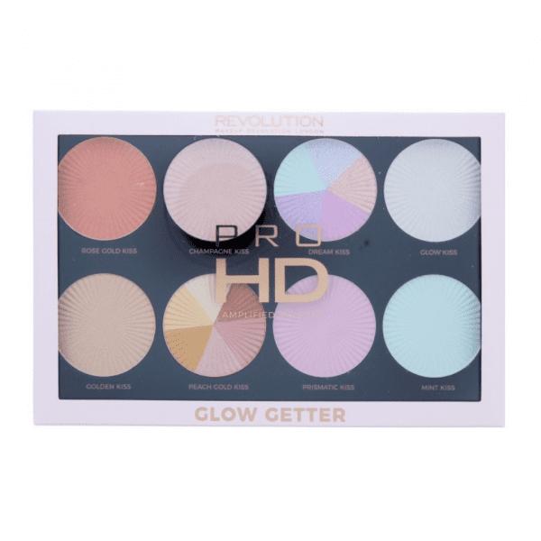 Revolution Pro HD Highlighter Palette – Glow Getter