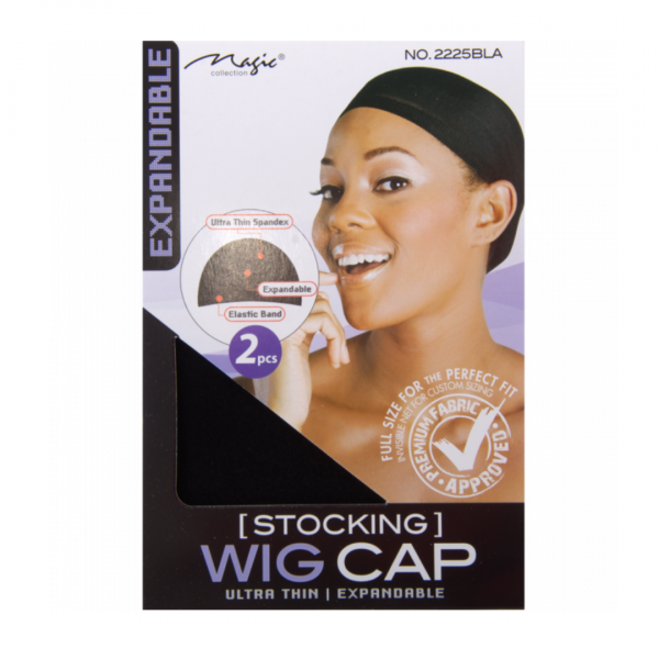 Wig Caps by Magic Collection Black
