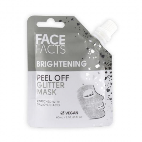 Face Facts Glitter Peel Off Mask – Brightening
