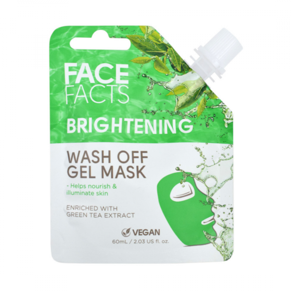 Face Facts Wash Off Gel Mask – Brightening