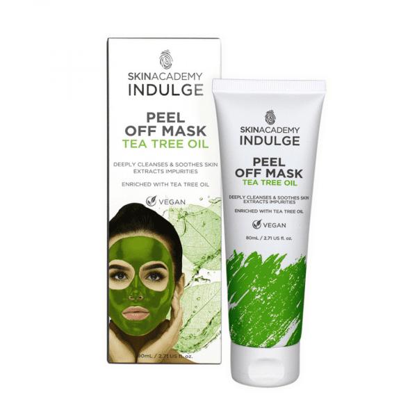 Skin Academy Indulge Peel Off Mask – Tea Tree Oil
