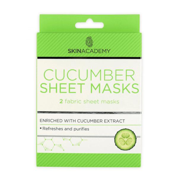 Skin Academy Sheet Mask – Cucumber